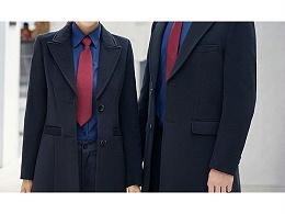 龙城物业大衣衬衫西裤定制案例