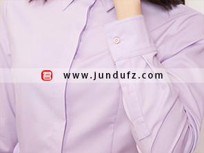 纯棉收腰经典衬衫袖口细节