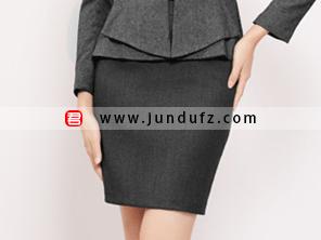 灰色包臀短裙效果图
