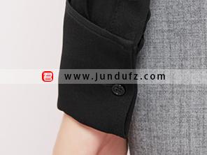 荷叶边高端衬衫袖口细节