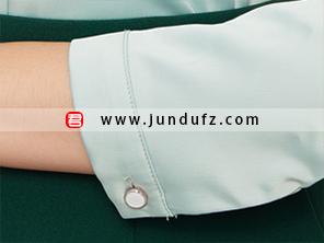 缎面复古衬衫袖口细节