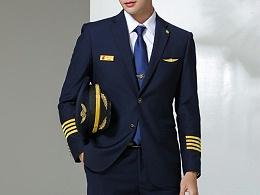 航空公司工作服职业装定制-HKF0873