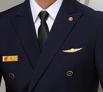 航空公司空少制服套装定制图片