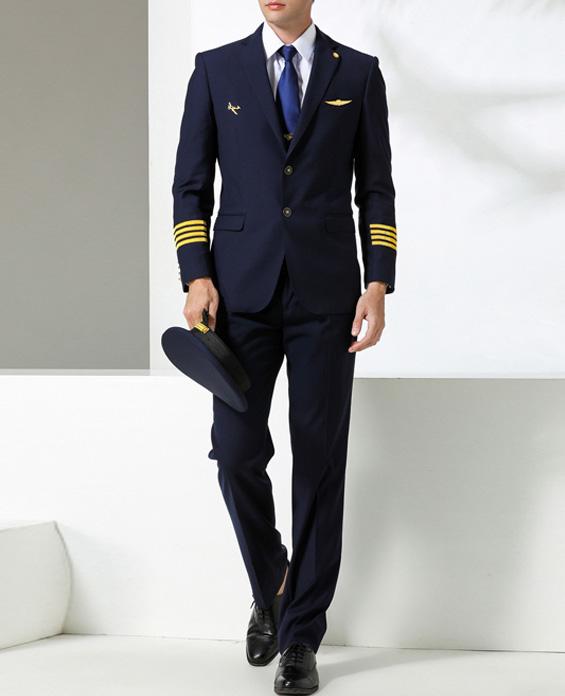航空公司空少制服套装定制展示图
