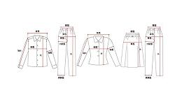 服装定制需要量哪些尺寸?