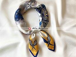 时尚百搭气质职业丝巾定制-SJ0255