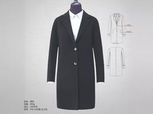 女黑色职业裙定制细节1