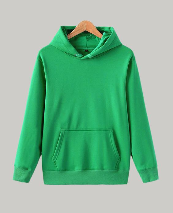 绿色卫衣定制