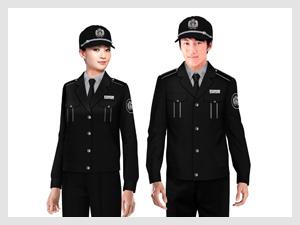 女黑色职业裙定制细节