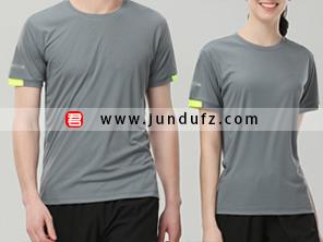 灰色企业团体文化衫T恤定制