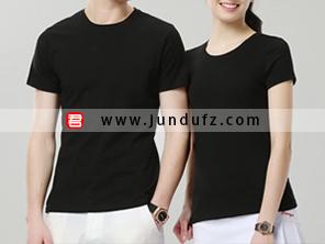 黑色企业团体文化衫T恤定制