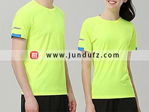 荧光绿企业团体文化衫T恤定制