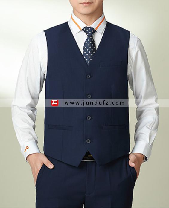 男士西装三件套职业装定制展示图