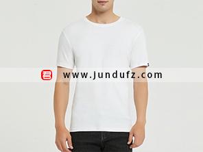 男士白色文化衫T恤定制