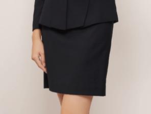 黑色短裙效果图