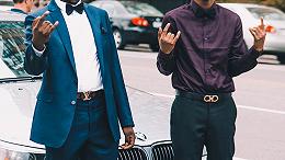 男士职业装皮带搭配技巧