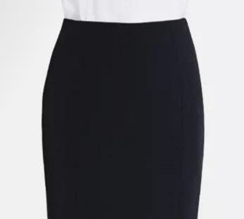 女黑色职业裙定制图片