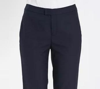 女士9分小脚裤细节展示