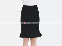 女士鱼尾短裙定制