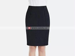 女士条纹短裙定制