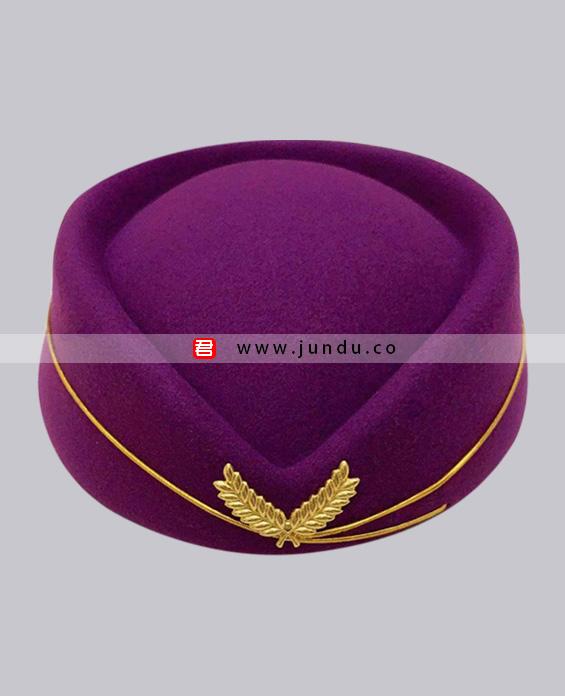 女士职业装帽子定制展示图