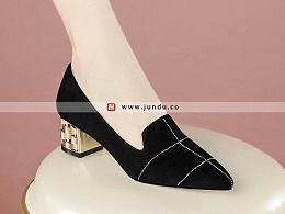 高档商务职业正装女鞋定制-XZ0274