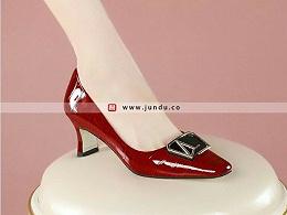 高档商务职业正装女鞋定制-XZ0275