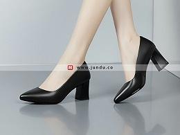 高档商务职业正装女鞋定制-XZ0277