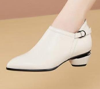 女士高端商务皮鞋定制图片